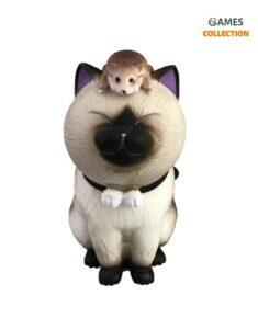 Фигурки Котиков с мышкой 12см