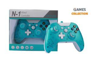 Wired Controller Xbox One Blue