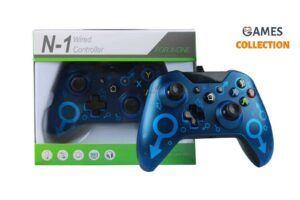 Проводной джойстик Xbox One Синий