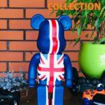 Bearbrick UK Flag 400% (28 см)