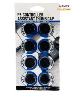 Стики Накладки Универсальные для Джойстика PS5/PS4 (Черные)