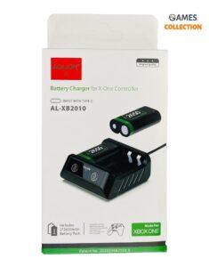 Аккумуляторы для XBox One 2 шт. с зарядной станцией (2650 Mah)