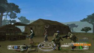 Tom Clancy's Ghost Recon Jungle Storm (PS2) Б/У