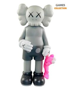 KAWS SHARE COMPANION Grey/Pink (31см)