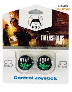 Стики для джойстика PS5/PS4 Высокие LAST OF US II Зеленый