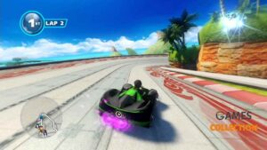Sonic & All-Stars Racing (PS3) Б/У