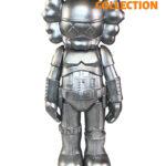 KAWS Star Wars Storm Trooper Companion Silver (25см)