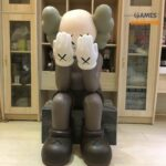 Kaws Passing Through 110 см Brown