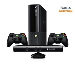 Xbox 360 Slim/E 250 Gb Freeboot 30 игр+Kineсt+2 Джойстик
