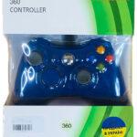 Проводной геймпад Xbox 360/Windows Джойстик (Синий)