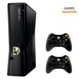 Xbox 360 Slim/E 250 Gb Freeboot 30 игр+2 Джойстик