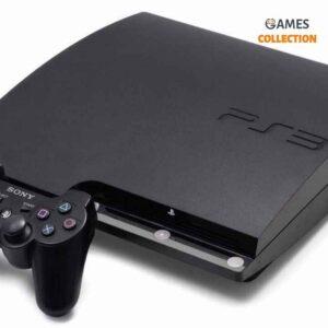 PS3 Slim Б.У 320 Gb +15 игр