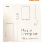 Play Charge Kit  (2 Аккумулятора 2 Провода (Xbox One S/ X / Elite/Series X )