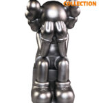 Kaws Companion Passing Through Silver 28см