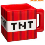 Кружка JINX Minecraft - Plastic TNT Red Mug (290 мл)