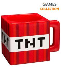 Кружка JINX Minecraft - Plastic TNT Red Mug (290 мл)