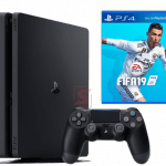 Sony PS4 slim 500gb + игра Fifa 19