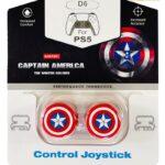 Стики для джойстика PS5/PS4 Высокие Captain America