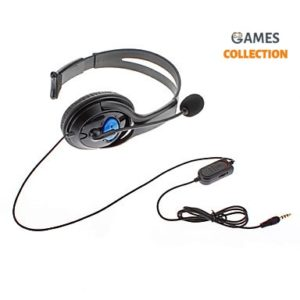 Проводная гарнитура + микрофон (PS4)