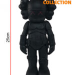 KAWS Star Wars Storm Trooper Companion black 25см