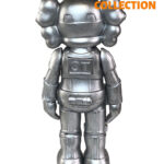 KAWS Star Wars Storm Trooper Companion silver 25см