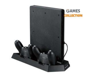 PS4 SLIM кронштейн приставки 2в1