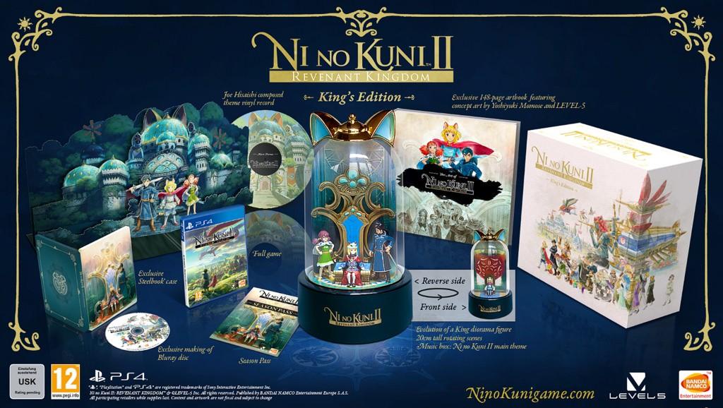 Ni No Kuni II: Revenant Kingdom Kings Edition (PS4)