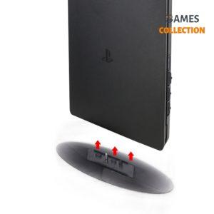 Вертикальная подставка DOBE (прозрачная) TP4-825(PS4/SLIM/PRO)