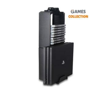 Стенд PS4/Slim/Pro + держатель дисков