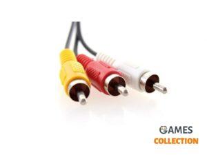 Кабель аудио-видео PS1/PS2/PS3