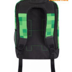 JINX Minecraft Creepy Things Backpack 17 (Green)