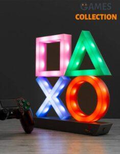 Ночник Paladone Playstation Icons Light XL