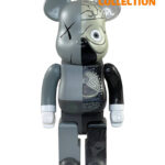 Bearbrick Dissected Companion Беарбрик серый 400% (28см)