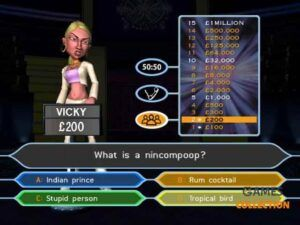 Who Wants to Be a Millionaire Party Edition (PS2) Б/У