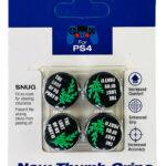 Стики для джойстика PS5/PS4 Last of us II Green (Облегающие)