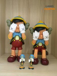 KAWS PASSING THROUGH Pinocchio & Jiminy Cricket
