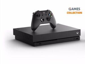 Microsoft Xbox One Х 1TB Black Б/У