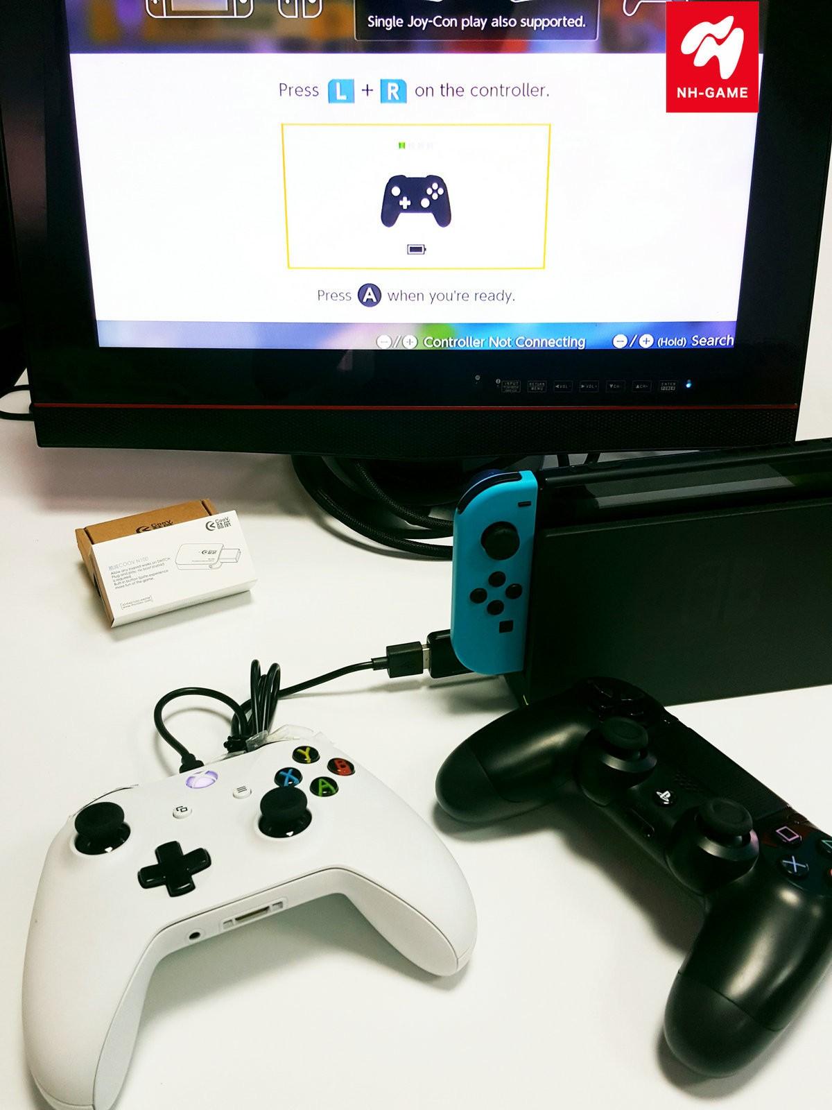 Coolway N100 SWITCH конвертер поддерживает PS3 PS4 XBOX ONE джойстик NS конвертер