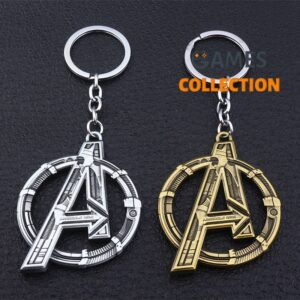 Marvel Мстители Avengers Серебро/Золото (Брелок)