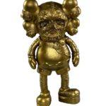 KAWS X PUSHEAD COMPANION Gold (25см)