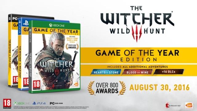 Ведьмак 3. Игра года (Xbox One)