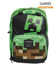 JINX Minecraft Creepy Things Backpack 17 (Green)