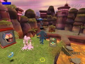 Inspector Gadget: Gadget & The Gadgetinis (PS2) Б/У