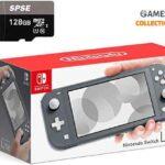Nintendo Switch Lite Grey/Yellow+Micro SD 128GB (Прошита SX Core + 20 игр)