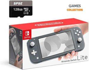Nintendo Switch Red-Blue\Grey+Micro SD 128GB (Прошивка SX Core + 20 игр)