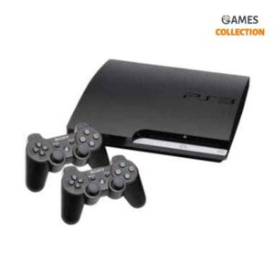 PS3 Slim Б.У 1 Tb + 25 игр+ 2 джойстика