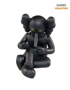 KAWS Companion Small Lie Black