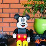 Bearbrick Mickey Mouse 400% (28 см) Black