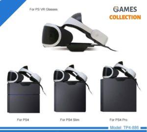 Держатель для VR/3D очков TP4-886 (PS4/SLIM/PRO)