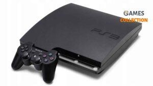 PS3 Slim Б.У 160 Gb + 7 игр + 2 Джойстика